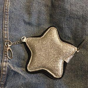Wild Fable Target Glitter Star Keychain Coin purse